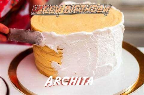 Birthday Images for Archita