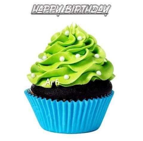 Happy Birthday Arfi