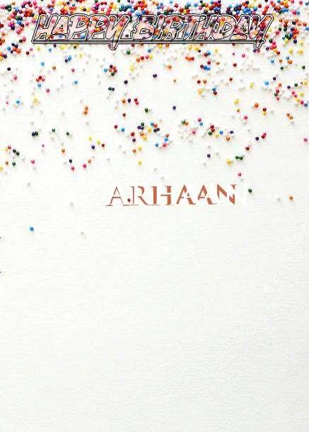 Happy Birthday Arhaan
