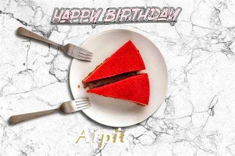 Happy Birthday Arpit