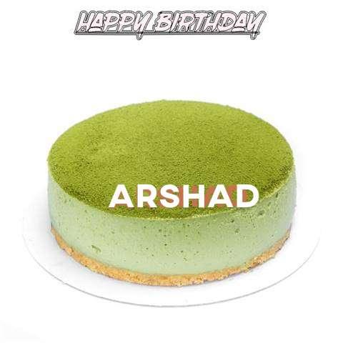 Happy Birthday Cake for Arshad