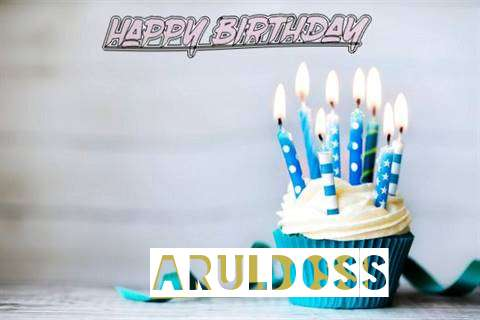 Happy Birthday Aruldoss Cake Image