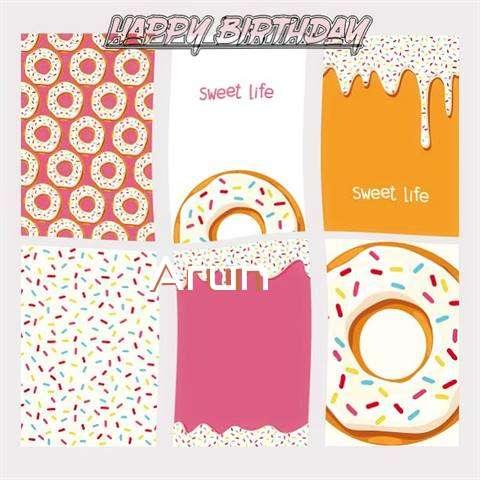 Happy Birthday Cake for Arun
