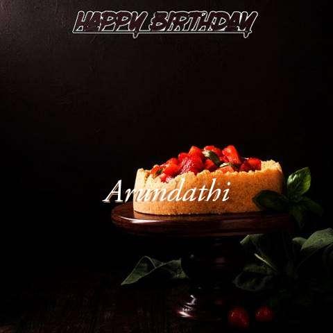 Arundathi Birthday Celebration