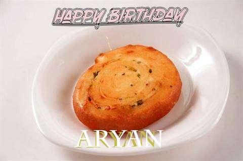 Happy Birthday Cake for Aryan