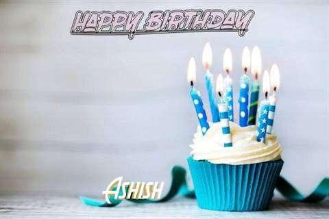 Happy Birthday Ashish Cake Image