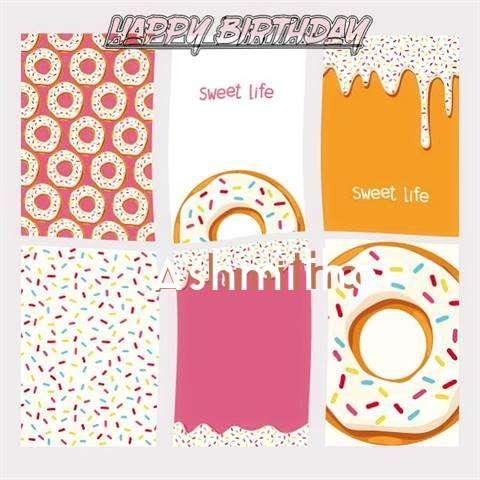 Happy Birthday Cake for Ashmitha