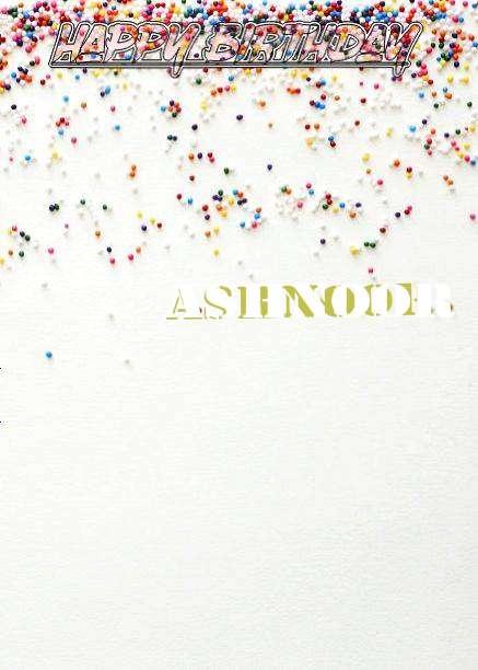 Happy Birthday Ashnoor