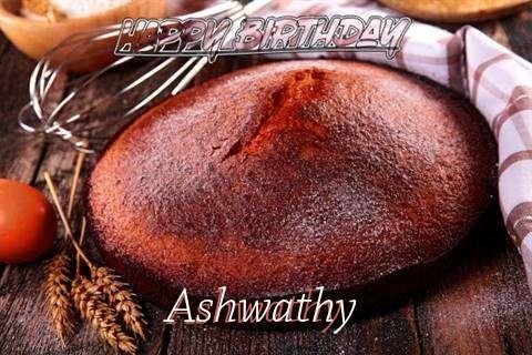 Happy Birthday Ashwathy Cake Image