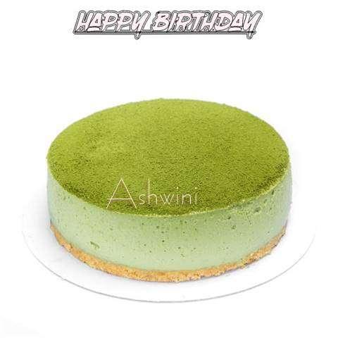 Happy Birthday Cake for Ashwini