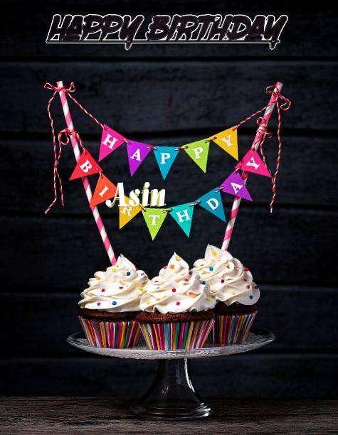 Happy Birthday Asin