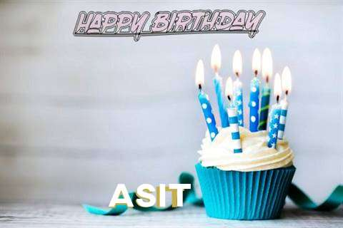 Happy Birthday Asit Cake Image