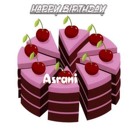 Happy Birthday Cake for Asrani