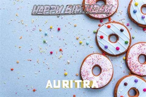 Happy Birthday Auritra Cake Image
