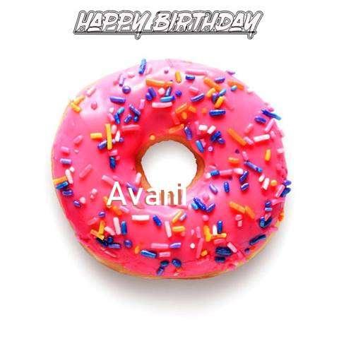 Birthday Images for Avani