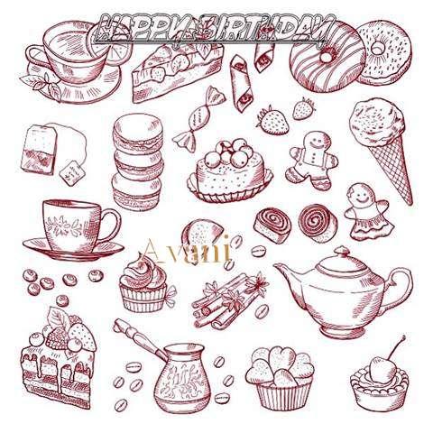 Happy Birthday Wishes for Avani