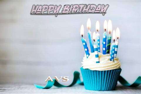 Happy Birthday Avs Cake Image