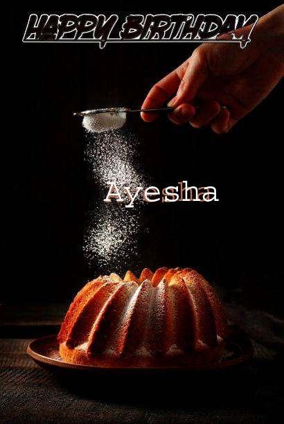 Birthday Images for Ayesha