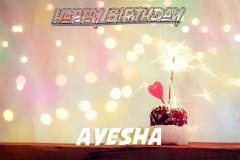 Ayesha Birthday Celebration