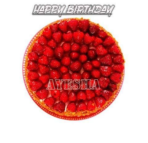 Happy Birthday to You Ayesha
