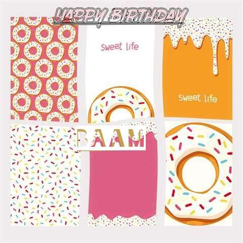 Happy Birthday Cake for Baam