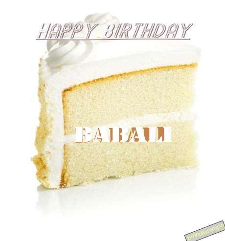 Happy Birthday Babali