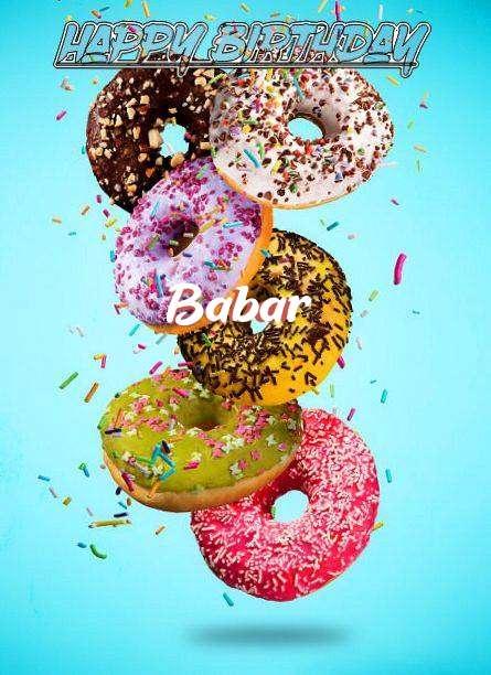 Happy Birthday Babar