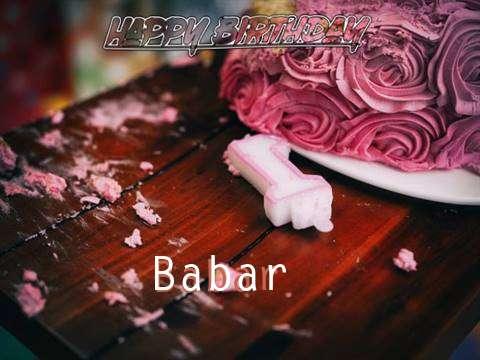 Babar Birthday Celebration