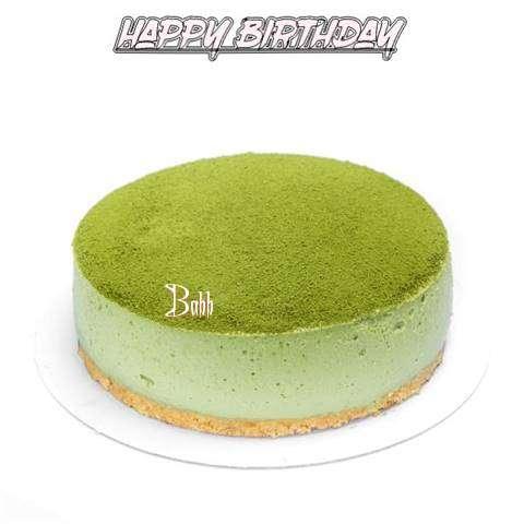 Happy Birthday Cake for Babb