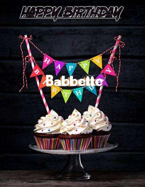 Happy Birthday Babbette