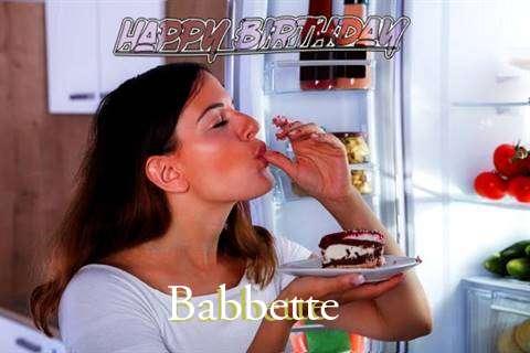 Happy Birthday to You Babbette