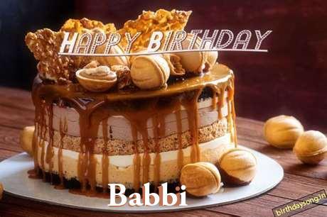 Happy Birthday Babbi