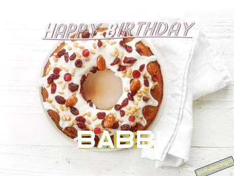 Happy Birthday Wishes for Babbi