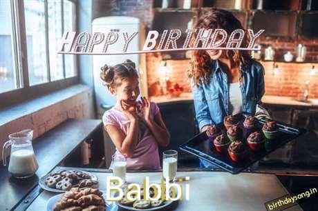Happy Birthday to You Babbi