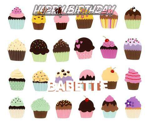 Happy Birthday Wishes for Babette