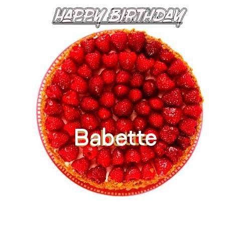 Happy Birthday to You Babette