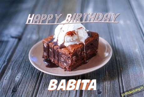 Happy Birthday Babita Cake Image