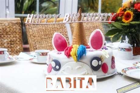 Happy Birthday Cake for Babita