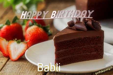 Birthday Images for Babli