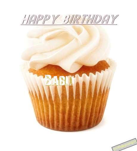 Happy Birthday Wishes for Babli