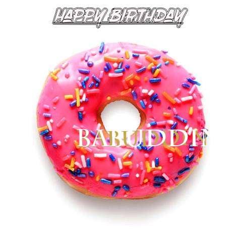 Birthday Images for Babuddin