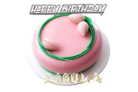 Happy Birthday Cake for Babulal