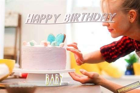 Happy Birthday Baby Cake Image