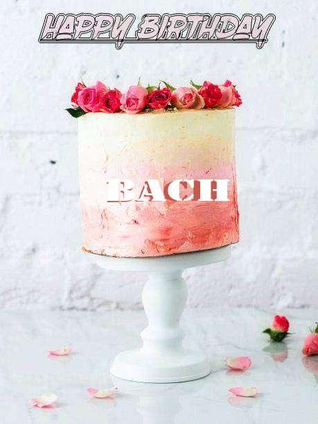 Happy Birthday Cake for Bach