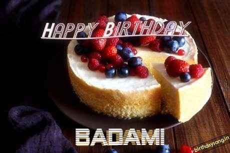 Happy Birthday Wishes for Badami