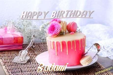 Happy Birthday to You Badami