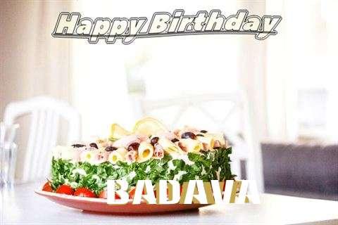 Happy Birthday to You Badava