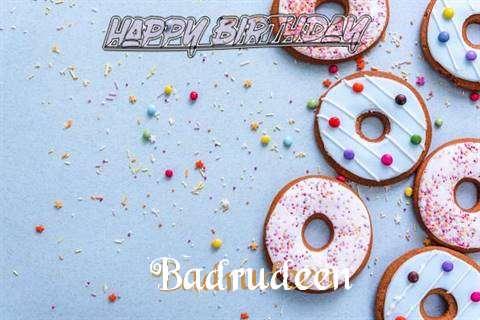 Happy Birthday Badrudeen Cake Image