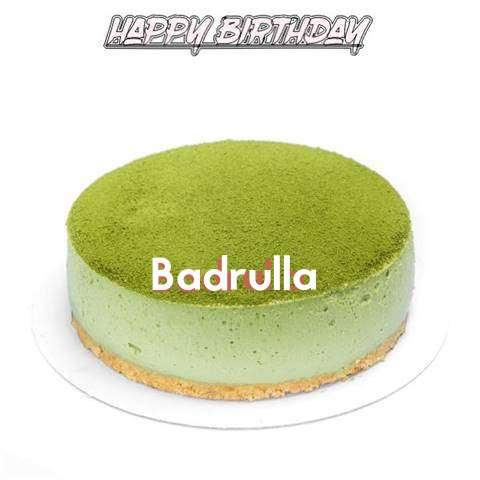 Happy Birthday Cake for Badrulla
