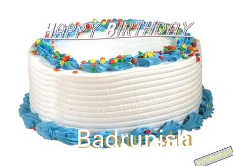 Happy Birthday Badrunisha